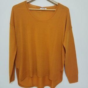NWOT Madewell Southstar Merino Wool Blend Sweater